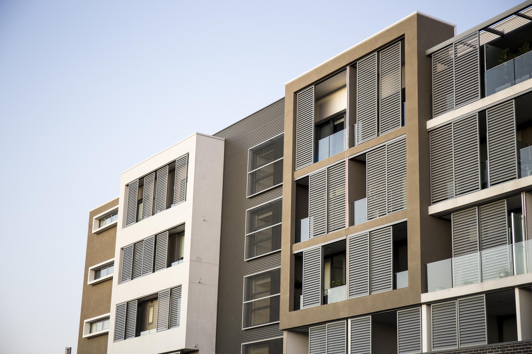 Strata managed apartment building Sydney
